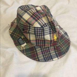Polo by Ralph Lauren Accessories - Brand reversible mens polo plaid bucket  hat size 7 de23c1f2578